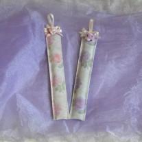 Segnalibri floreali con lavanda