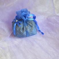 Sacchettino blu con lavanda