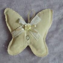 Bomboniera farfalla con lavanda